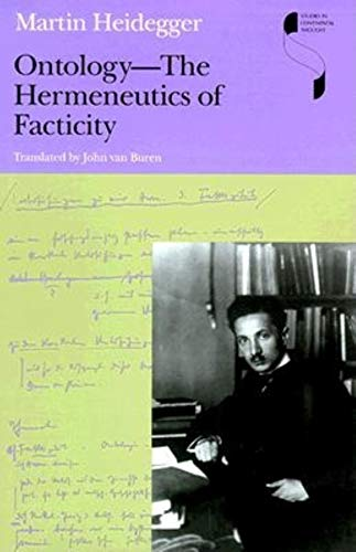 9780253335074: Ontology: The Hermeneutics of Facticity (Studies in Continental Thought)