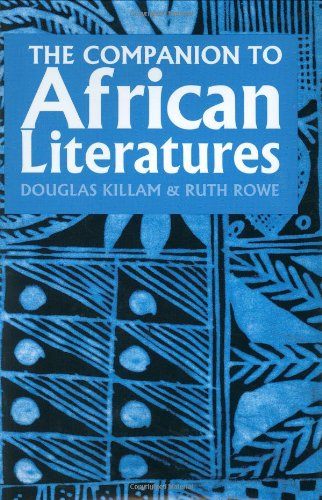 9780253336330: The Companion to African Literatures