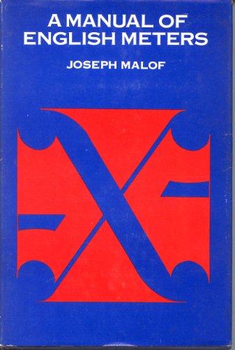 Manual of English Meters: Joseph Malof