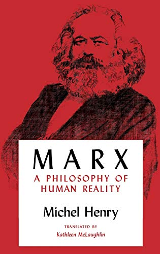 9780253336804: Marx: A Philosophy of Human Reality (Studies in Phenomenology and Existential Philosophy)