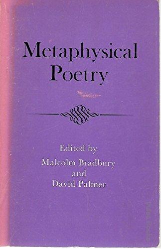 Metaphysical Poetry: David (editors) Bradbury