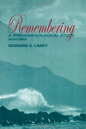 9780253337894: Remembering: A Phenomenological Study (Studies in Continental Thought)