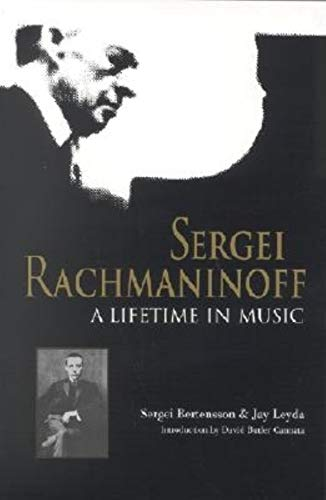 9780253338174: Sergei Rachmaninoff: A Lifetime in Music (Russian Music Studie)