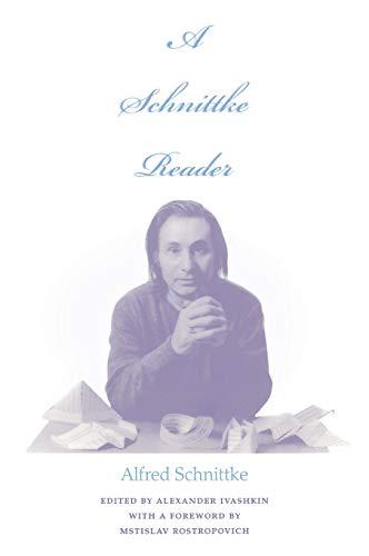 9780253338181: A Schnittke Reader: