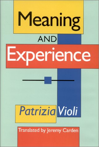 9780253338631: Meaning and Experience