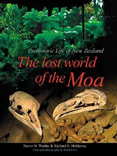 9780253340344: The Lost World of the Moa: Prehistoric Life of New Zealand