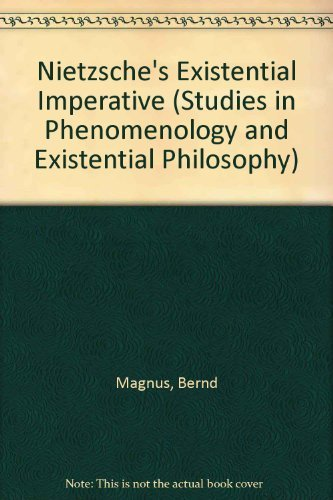 9780253340627: Nietzsche's Existential Imperative (Studies in Phenomenology and Existential Philosophy)