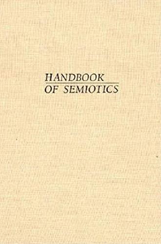 9780253341204: Handbook of Semiotics (Advances in Semiotic)