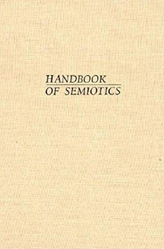 9780253341204: Handbook of Semiotics (Advances in Semiotic)