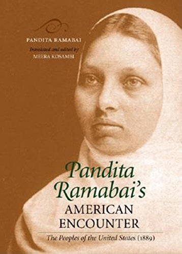 9780253341907: Pandita Ramabai's American Encounter: The Peoples of the United States (1889)