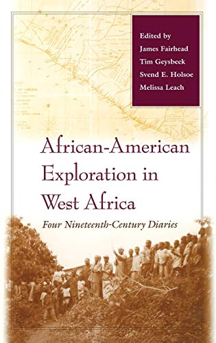 9780253341945: African-American Exploration in West Africa: Four Nineteenth-Century Diaries
