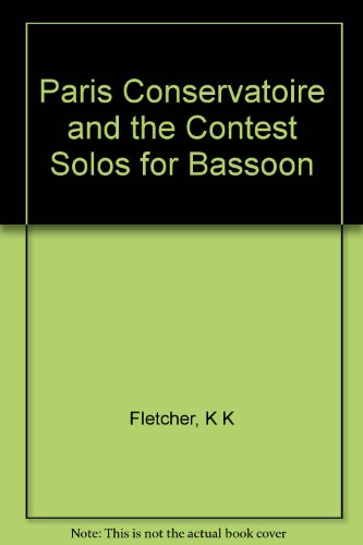 9780253342157: Paris Conservatoire and the Contest Solos for Bassoon