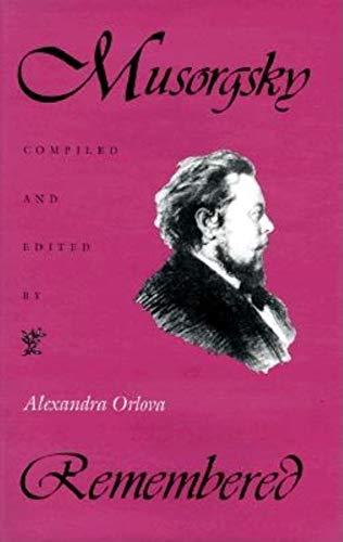 9780253342645: Musorgsky Remembered (Russian Music Studies)