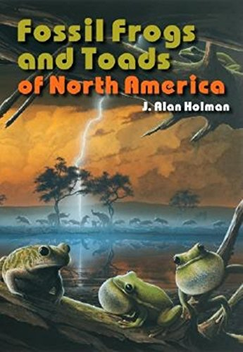 Fossil Frogs and Toads of North America.: J. Alan Holman.