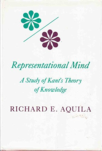 9780253350053: Representational Mind: A Study of Kant's Theory of Knowledge