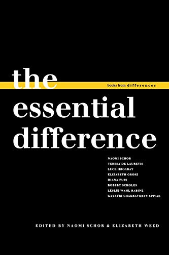 9780253350930: The Essential Difference (Books from differences)