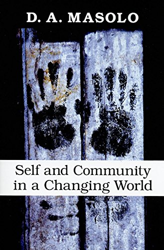 9780253354815: Self and Community in a Changing World
