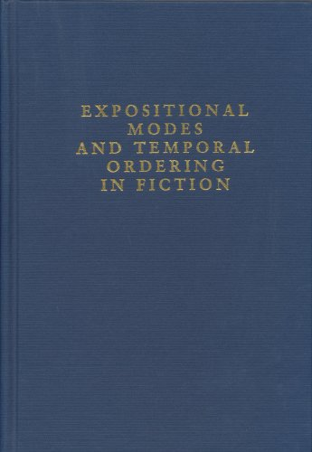 9780253355522: Expositional Modes and Temporal Ordering in Fiction