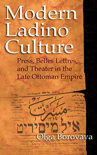 Modern Ladino Culture: Borovaya, Olga