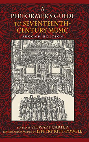 9780253357069: A Performer's Guide to Seventeenth-Century Music (Publications of the Early Music Institute)