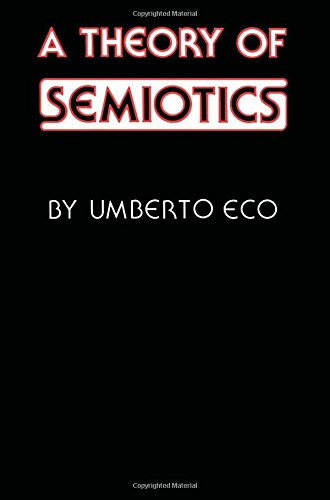 9780253359551: A Theory of Semiotics (Advances in Semiotics)