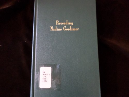 9780253363039: Rereading Nadine Gordimer
