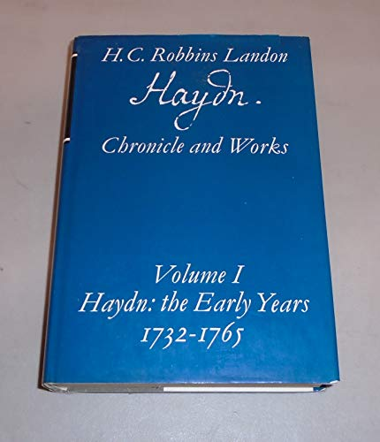 HAYDN: CHRONICLE AND WORKS. 5 Vols. (Complete).: Landon, H. C.