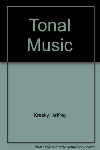 9780253370112: Tonal Music: Twelve Analytic Studies