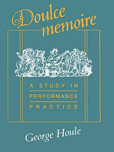 9780253388469: Doulce Memoire (Publications of the Early Music Institute)