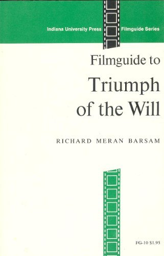 Filmguide to Triumph of the Will (Filmguide Series)