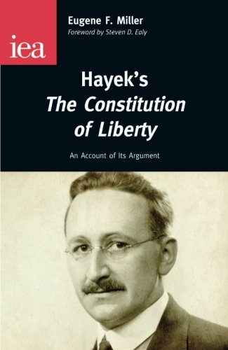 9780255366373: Hayek's The Constitution of Liberty