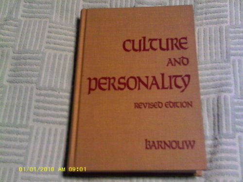 9780256014037: Culture and personality (The Dorsey series in anthropology and sociology)