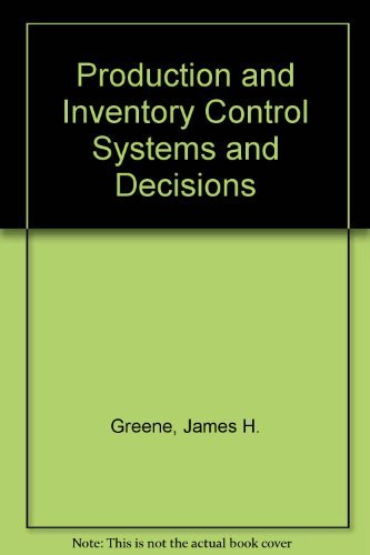 Production and Inventory Control Systems and Decisions: James H Greene