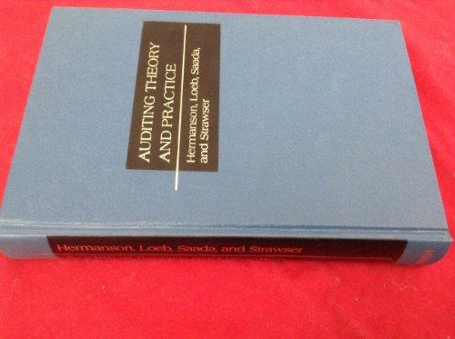 Auditing Theory and Practice: John M. Saada;