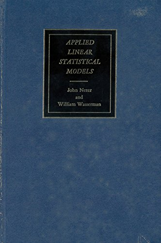 9780256014983: Applied Linear Statistical Models