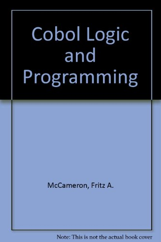 COBOL Logic and Programming -- Third Edition