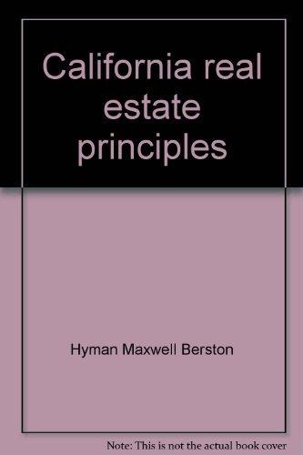 9780256016642: California real estate principles