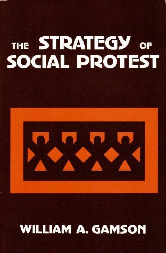 9780256016840: The Strategy of Social Protest (The Dorsey series in sociology)