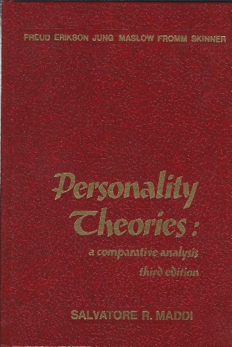 9780256018004: Personality Theories: A Comparative Analysis (The Dorsey series in psychology)