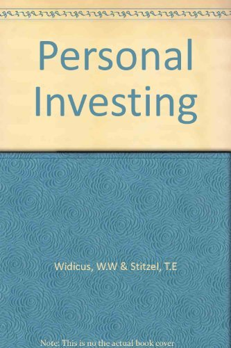 9780256018325: Personal investing (The Irwin series in finance)