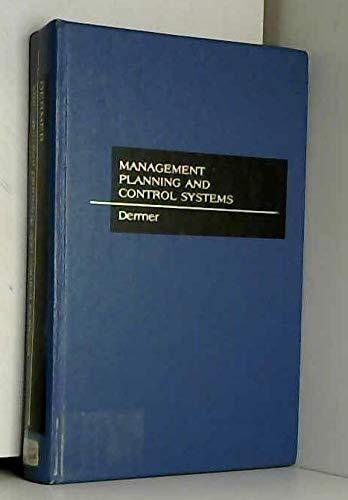 Management Planning and Control Systems: Advanced Concepts and Cases