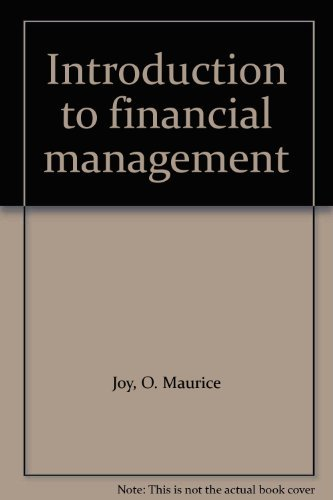 9780256018806: Introduction to financial management