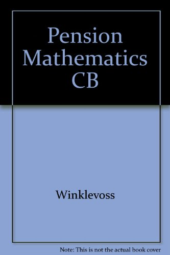 9780256018868: Pension Mathematics CB