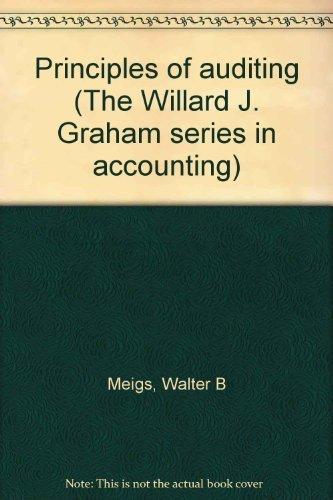 9780256019025: Principles of auditing (The Willard J. Graham series in accounting)