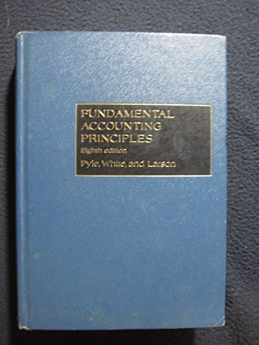 Fundamental Accounting Principles: Kermit D. Larson;