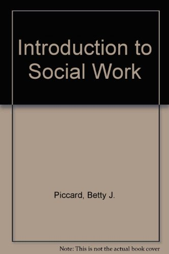 9780256021097: Introduction to Social Work