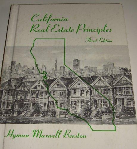 9780256021493: California real estate principles