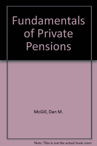 9780256022520: Fundamentals of Private Pensions