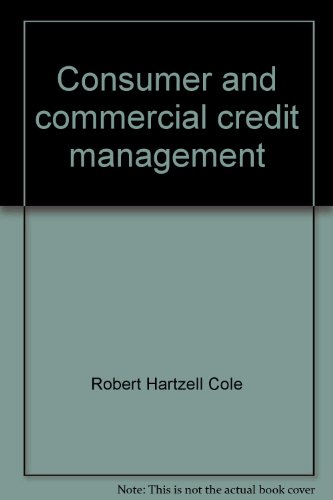 9780256022551: Consumer and commercial credit management