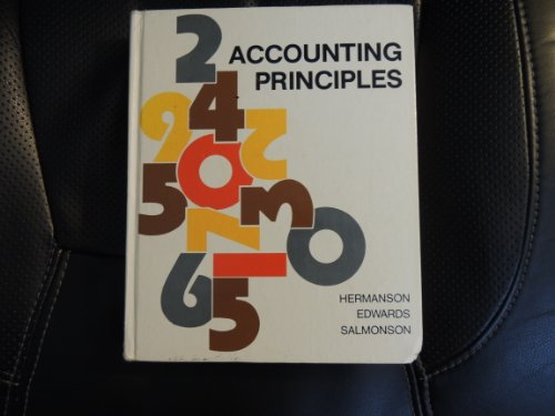 9780256022582: Accounting principles